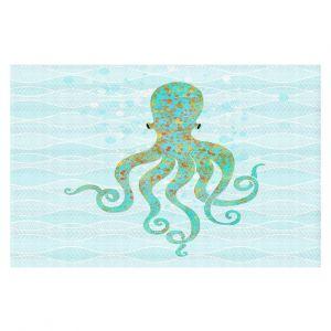Decorative Floor Coverings | Tina Lavoie - Olivia Octopus | Ocean Nature Sealife
