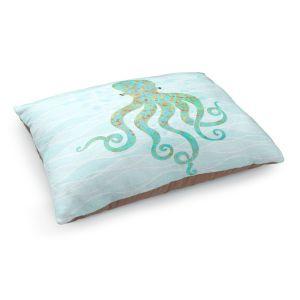 Decorative Dog Pet Beds | Tina Lavoie - Olivia Octopus | Ocean Nature Sealife
