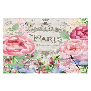 Decorative Floor Coverings | Tina Lavoie - Paris Flower Market 1 | France Floral