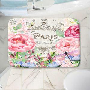 Decorative Bathroom Mats | Tina Lavoie - Paris Flower Market 1 | France Floral