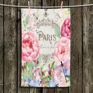 Unique Bathroom Towels | Tina Lavoie - Paris Flower Market 1 | France Floral