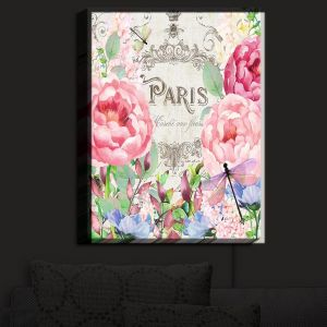 Nightlight Sconce Canvas Light | Tina Lavoie - Paris Flower Market 1