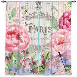 Decorative Window Treatments   Tina Lavoie - Paris Flower Market 1   France Floral