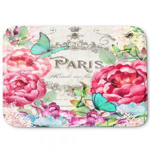 Decorative Bathroom Mats | Tina Lavoie - Paris Flower Market 2 | France Floral