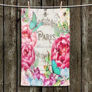 Unique Bathroom Towels | Tina Lavoie - Paris Flower Market 2 | France Floral