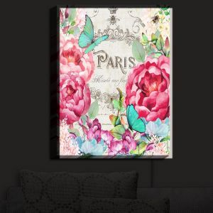 Nightlight Sconce Canvas Light | Tina Lavoie - Paris Flower Market 2