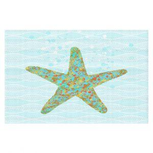 Decorative Floor Coverings | Tina Lavoie - Stella Starfish | Ocean Nature Sealife