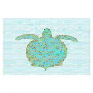 Decorative Floor Coverings | Tina Lavoie - Tucker Turtle | Ocean Nature Sealife
