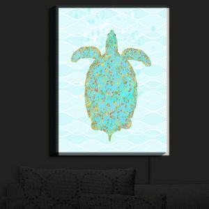 Nightlight Sconce Canvas Light | Tina Lavoie - Tucker Turtle