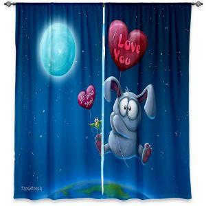 Decorative Window Treatments | Tooshtoosh Balloon Bunny