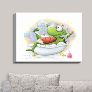 Decorative Canvas Wall Art | Tooshtoosh - Bubblebath