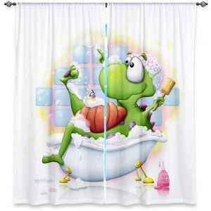 Decorative Window Treatments | Tooshtoosh Bubble Bath