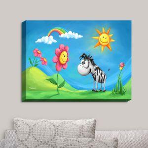 Decorative Canvas Wall Art | Tooshtoosh - Colors Discovery