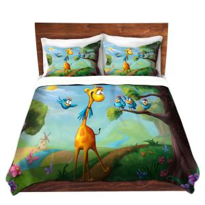 Artistic Duvet Covers and Shams Bedding | Tooshtoosh - Giraffraf