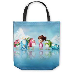 Unique Shoulder Bag Tote Bags   Tooshtoosh Im a Penguin Too!