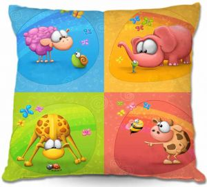 Decorative Outdoor Patio Pillow Cushion | Tooshtoosh - Meet the Little Ones