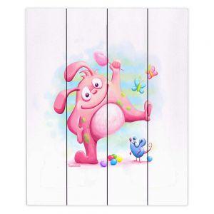 Decorative Wood Plank Wall Art | Tooshtoosh Piki Piki