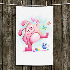Unique Hanging Tea Towels | Tooshtoosh - Piki Piki Bunny | Bunny Mouse Candy
