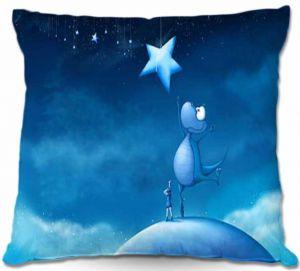 Throw Pillows Decorative Artistic   Tooshtoosh Reach For A Star