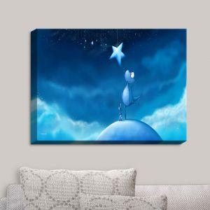 Decorative Canvas Wall Art | Tooshtoosh - Reach for a Star