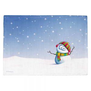 Countertop Place Mats | Tooshtoosh's Snowman