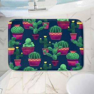 Decorative Bathroom Mats | Noonday Design - Cacti | Cactus Pattern