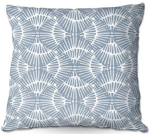 Decorative Outdoor Patio Pillow Cushion | Traci Nichole Design Studio - Basket Weave Brisk | Patterns