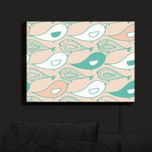 Nightlight Sconce Canvas Light | Traci Nichole Design Studio - Birds Of A feather Dove