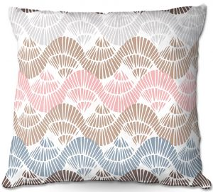 Throw Pillows Decorative Artistic | Traci Nichole Design Studio - Bookworm Sweet Tart | Patterns Boho Chic