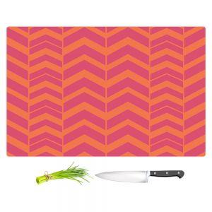 Artistic Kitchen Bar Cutting Boards   Traci Nichole Design Studio - Chevron Berry Citrus