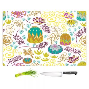 Artistic Kitchen Bar Cutting Boards | Traci Nichole Design Studio - Desert Garden