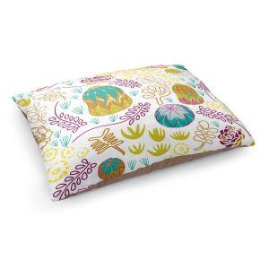 Decorative Dog Pet Beds | Traci Nichole Design Studio - Desert Garden