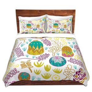 Artistic Duvet Covers and Shams Bedding   Traci Nichole Design Studio - Desert Garden