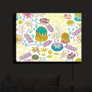Nightlight Sconce Canvas Light | Traci Nichole Design Studio - Desert Garden | Patterns