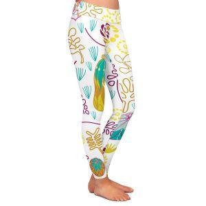 Casual Comfortable Leggings | Traci Nichole Design Studio - Desert Garden
