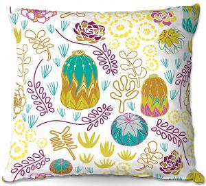 Throw Pillows Decorative Artistic | Traci Nichole Design Studio - Desert Garden