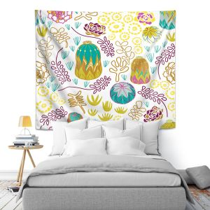 Artistic Wall Tapestry | Traci Nichole Design Studio - Desert Garden