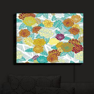 Nightlight Sconce Canvas Light | Traci Nichole Design Studio - Echeveria Mirage | Patterns