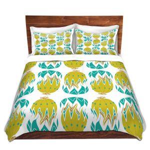 Artistic Duvet Covers and Shams Bedding   Traci Nichole Design Studio - Euphorbia Aloe