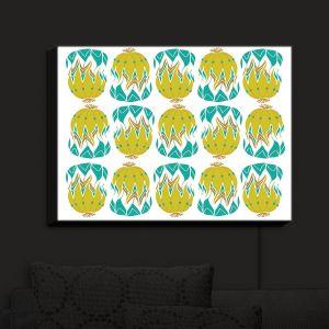Nightlight Sconce Canvas Light | Traci Nichole Design Studio - Euphorbia Aloe | Patterns
