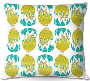 Decorative Outdoor Patio Pillow Cushion | Traci Nichole Design Studio - Euphorbia Aloe
