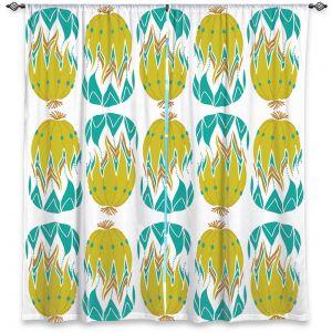 Decorative Window Treatments | Traci Nichole Design Studio - Euphorbia Aloe