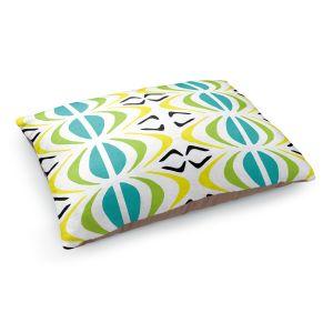 Decorative Dog Pet Beds | Traci Nichole Design Studio - Glyph Multi