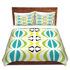 Artistic Duvet Covers and Shams Bedding | Traci Nichole Design Studio - Glyph Multi