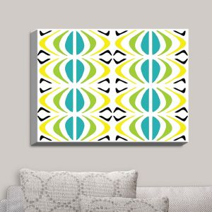 Decorative Canvas Wall Art | Traci Nichole Design Studio - Glyph Multi | Patterns