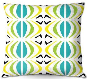Throw Pillows Decorative Artistic | Traci Nichole Design Studio - Glyph Multi