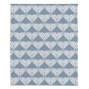 Decorative Fleece Throw Blankets | Traci Nichole Design Studio - Market Mountain Mist | Patterns