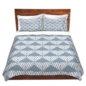 Artistic Duvet Covers and Shams Bedding   Traci Nichole Design Studio - Market Mountain Mist   Patterns
