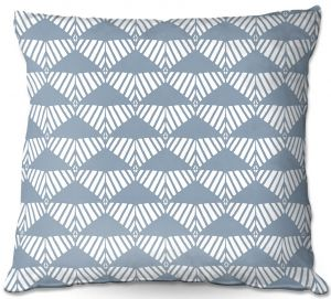 Decorative Outdoor Patio Pillow Cushion | Traci Nichole Design Studio - Market Mountain Mist | Patterns