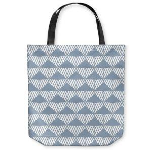 Unique Shoulder Bag Tote Bags | Traci Nichole Design Studio - Market Mountain Mist | Patterns